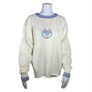 Vintage HEAD Women's Tennis Sweater Size Large